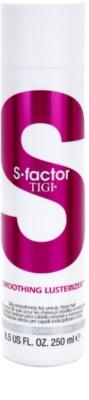 TIGI S-Factor Smoothing Lusterizer kondicionáló a rakoncátlan és töredezett hajra