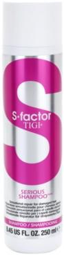 TIGI S-Factor Serious erneuerndes Shampoo für beschädigtes Haar