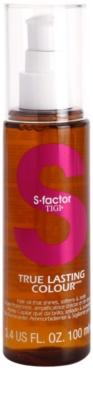 TIGI S-Factor True Lasting Colour tratamiento de aceite  para cabello teñido