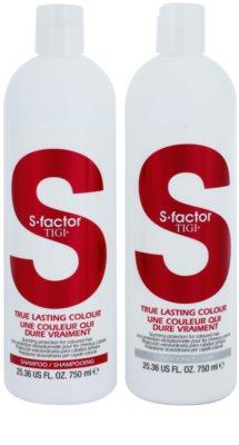 TIGI S-Factor True Lasting Colour kosmetická sada I. 1