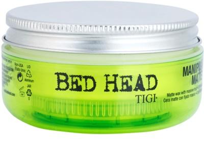TIGI Bed Head Styling mattierendes Wachs extra starke Fixierung