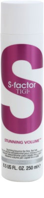 TIGI S-Factor Stunning Volume Balsam pentru par fin si moale.