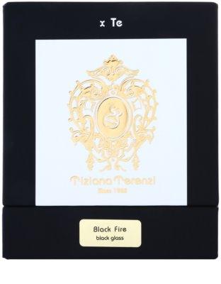 Tiziana Terenzi Black Fire dišeča sveča   majhna s pokrovčkom 3