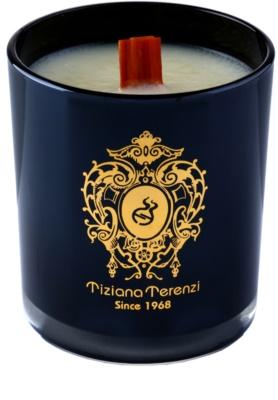 Tiziana Terenzi Black Fire dišeča sveča   majhna s pokrovčkom 2