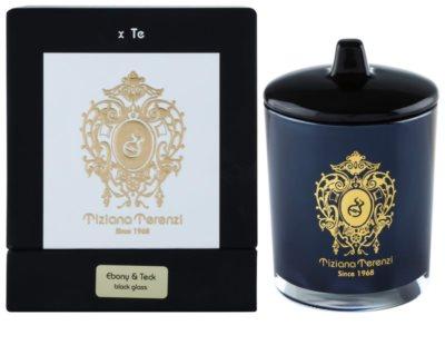Tiziana Terenzi Ebony & Teck illatos gyertya    kicsi