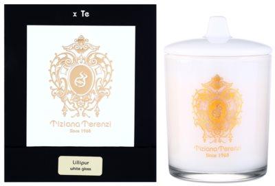 Tiziana Terenzi Lillipur vela perfumado   pequeno com tampa