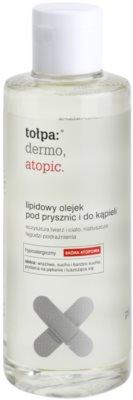 Tołpa Dermo Atopic Lipid-Öl für Dusche und Bad