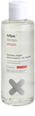 Tołpa Dermo Atopic óleo lipídico para duche e banho