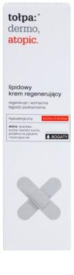 Tołpa Dermo Atopic crema regeneratoare cu lipide pentru piele sensibila si iritabila 2