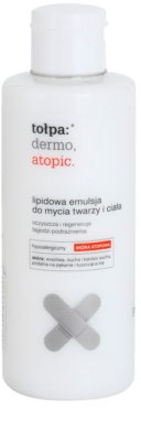 Tołpa Dermo Atopic emulzija z lipidi za umivanje za obraz in telo
