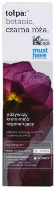 Tołpa Botanic Black Rose crema regeneradora nutritiva para pieles deshidratadas y muy secas 2