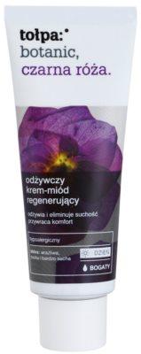 Tołpa Botanic Black Rose crema regeneradora nutritiva para pieles deshidratadas y muy secas
