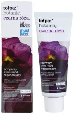 Tołpa Botanic Black Rose crema regeneradora nutritiva para pieles deshidratadas y muy secas 1
