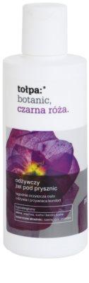Tołpa Botanic Black Rose nährendes Duschgel für trockene und empfindliche Haut