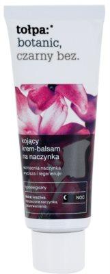 Tołpa Botanic Elderberry Beruhigende Nachtcreme für empfindliche Haut mit der Neigung zum Erröten