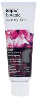 Tołpa Botanic Elderberry нічний заспокоюючий крем для чутливої шкіри схильної до почервонінь
