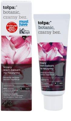Tołpa Botanic Elderberry нічний заспокоюючий крем для чутливої шкіри схильної до почервонінь 1