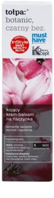 Tołpa Botanic Elderberry nyugtató éjszakai krém Érzékeny, bőrpírra hajlamos bőrre 2