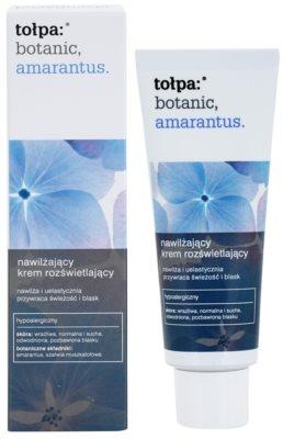 Tołpa Botanic Amaranthus crema hidratante para iluminar la piel 1