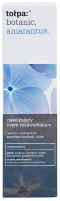 Tołpa Botanic Amaranthus crema hidratante para iluminar la piel 2