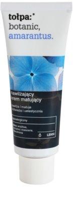 Tołpa Botanic Amaranthus crema matificante hidratante para pieles cansadas
