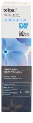 Tołpa Botanic Amaranthus crema matificante hidratante para pieles cansadas 2