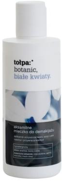 Tołpa Botanic White Flowers gyengéd sminklemosó tej hidratáló hatással