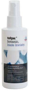 Tołpa Botanic White Flowers tónico refrescante em spray