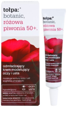 Tołpa Botanic Peony Pink 50+ fiatalító krém a szem és az ajak körvonalára 1
