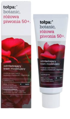 Tołpa Botanic Peony Pink 50+ Anti-Aging Nachtcreme zur Festigung der Haut 1