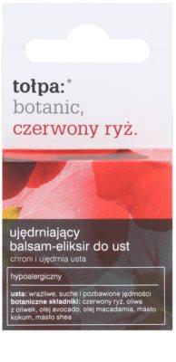 Tołpa Botanic Red Rice balsam pentru fermitate pe/pentru buze 1