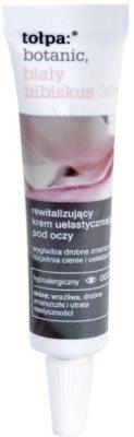 Tołpa Botanic White Hibiscus 30+ revitalisierende Augencreme gegen Falten und dunkle Augenringe