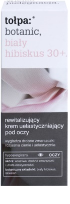 Tołpa Botanic White Hibiscus 30+ crema revitalizante para contorno de ojos  antiarrugas y antiojeras 2