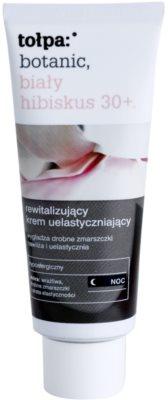 Tołpa Botanic White Hibiscus 30+ crema de noapte revitalizanta impotriva primelor semne de imbatranire ale pielii
