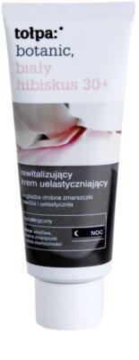 Tołpa Botanic White Hibiscus 30+ creme de noite revitalizante contra os primeiros sinais de envelhecimento