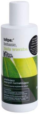 Tołpa Botanic White Willow champô normalizador para cabelo e couro cabeludo oleosos