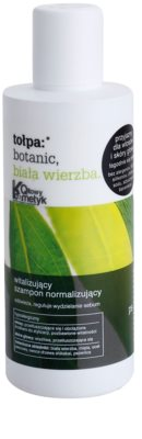 Tołpa Botanic White Willow szampon normalizujący do przetłuszczających się włosów i skóry głowy