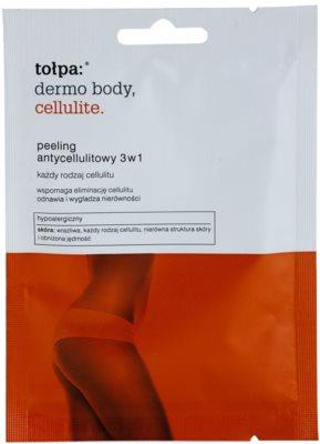 Tołpa Dermo Body Cellulite Bodypeeling gegen Cellulite 3in1