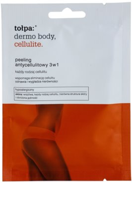 Tołpa Dermo Body Cellulite telový peeling proti celulitíde 3v1