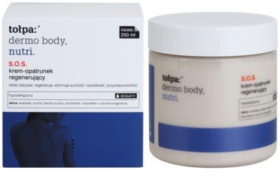 Tołpa Dermo Body Nutri crema SOS facial y corporal para pieles secas y muy secas 1