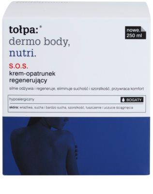 Tołpa Dermo Body Nutri crema SOS facial y corporal para pieles secas y muy secas 2