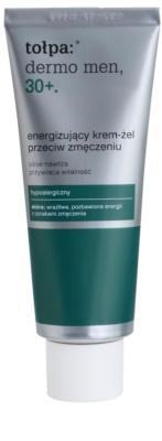 Tołpa Dermo Men 30+ енергизиращ гел-крем за уморена кожа