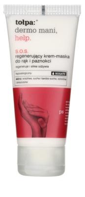 Tołpa Dermo Mani Help SOS regenerační krém-maska na ruce a nehty