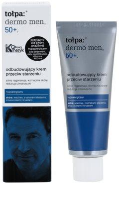Tołpa Dermo Men 50+ obnovující krém proti vráskám 1