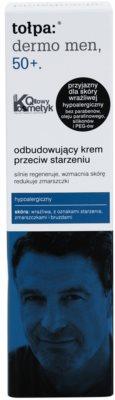 Tołpa Dermo Men 50+ crema regenerativa antiarrugas 2