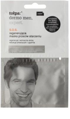 Tołpa Dermo Men Expert SOS mascarilla regeneradora antienvejecimiento