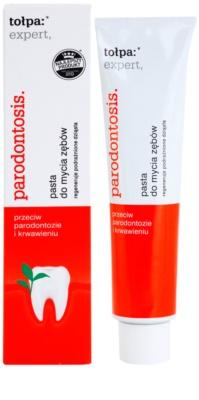 Tołpa Expert Parodontosis fogkrém  fogínyvérzés és fogágybetegség ellen 1