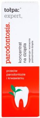Tołpa Expert Parodontosis gel regenerador contra sangramento de gengivas 2