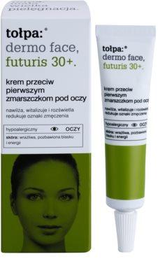 Tołpa Dermo Face Futuris 30+ oční krém proti prvním známkám stárnutí pleti 1
