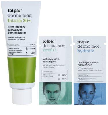 Tołpa Dermo Face Futuris 30+ crema de día para las primeras arrugas SPF 15 2
